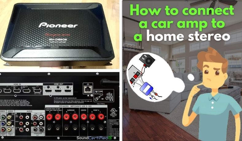 How to connect a car amp to home stereo featured image