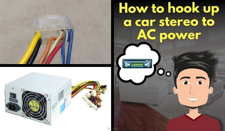 How to hook up a car stereo to AC power featured image
