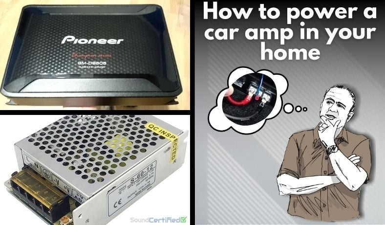 How to power a car amp in your home featured image