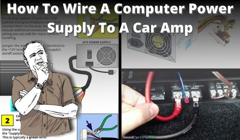 How to wire a computer power supply to a car amp featured image