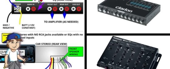 How To Wire An EQ And Crossover For Car Audio + Diagrams And More!