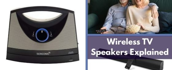 What Is A Wireless TV Speaker And How Does It Work?