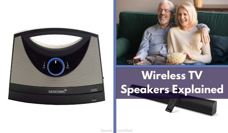 what is a wireless tv speaker and how does it work featured image