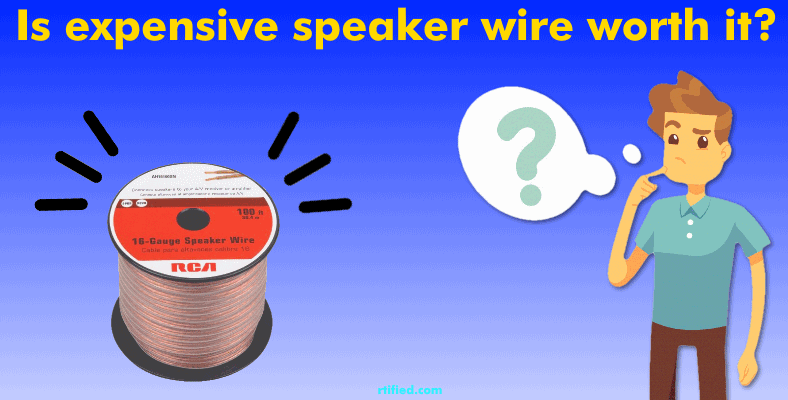 do I need to buy expensive speaker wire section image