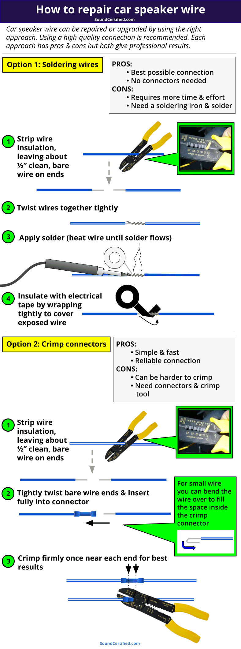 how to repair car speaker wire diagram