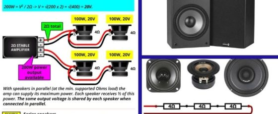 Series Or Parallel Speakers – Which is Better + Pros And Cons