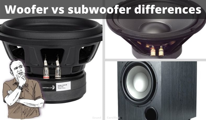 woofer vs subwoofer difference article main image